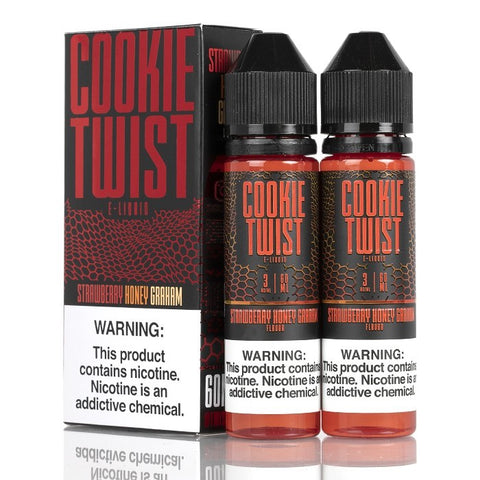 Cookie Twist E-Liquid - Strawberry Honey Graham