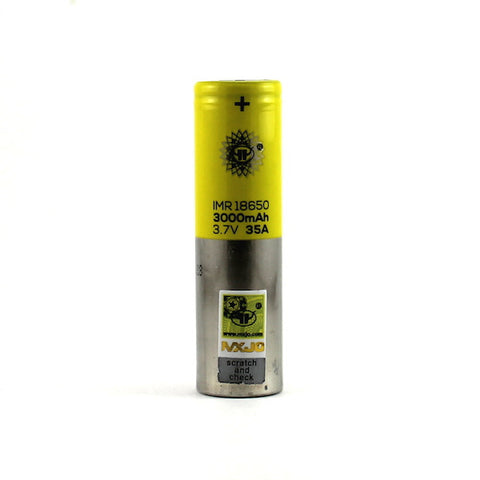 MXJO 18650 35A High Drain 3000mAh Battery