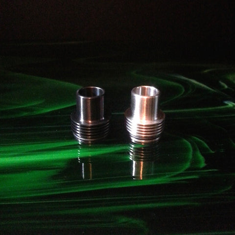 Tobeco 22mm Stainless Steel Chuff Enuff Top Cap/Drip Top Clone (Tobh Style)