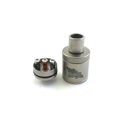 Flawless - Tugboat RDA v2 Media Blasted (100% Authentic)