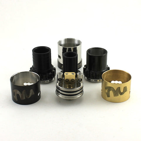 Twisted Messes RDA by Compvape (Black and Gold) (Authentic)