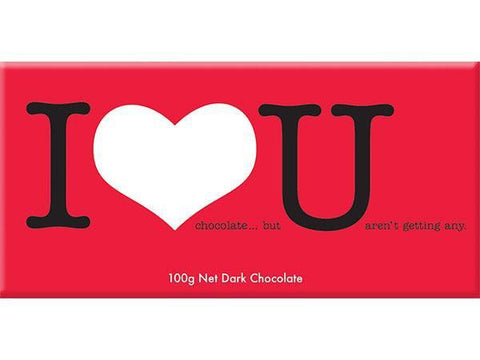 Bellaberry I Heart U Dark Chocolate 100G