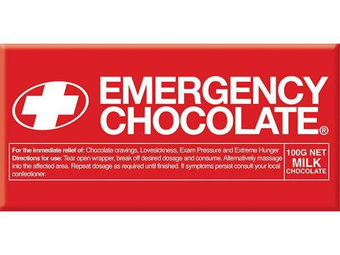 Bellaberry Emergency Choc Milk Chocolate 100G