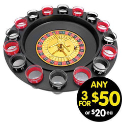Drink King Shot Glass Roulette