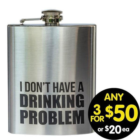 Hip Flask I don't Have a Problem 7oz