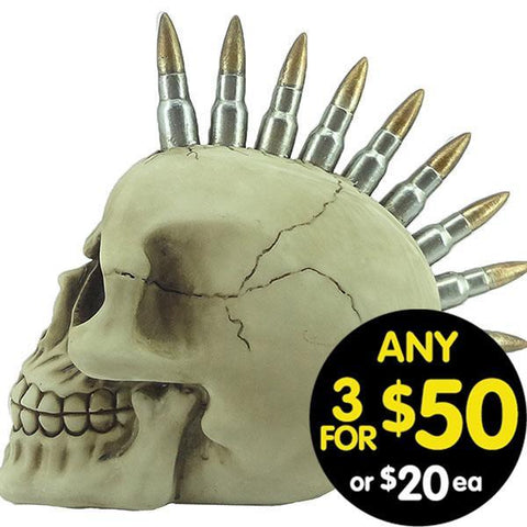 Forsaken Realm Skull With Bullets S#002