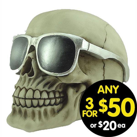 Forsaken Realm Skull With Shades