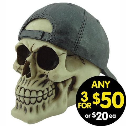 Forsaken Realm Skull With Black Cool Cap