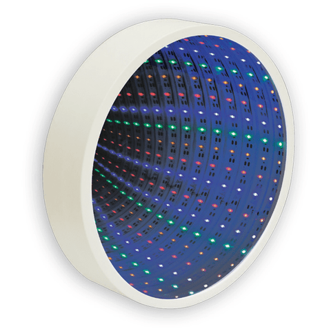 Hello Lucky Infinity Mirror Lamp - Circle