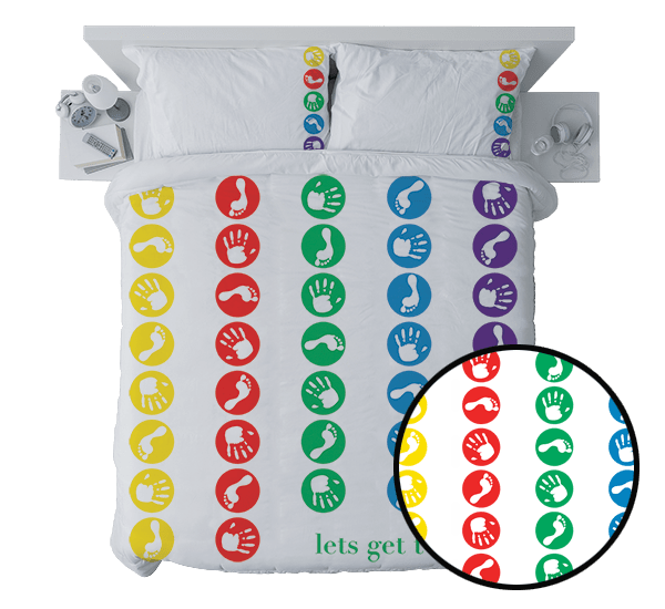 Monkey Hut Quilt Cover - Queen – Lets Get Twisted