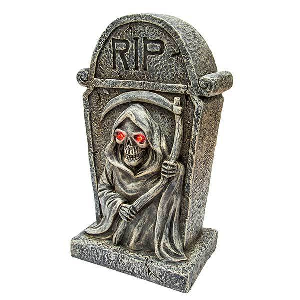 Tombstone Grim Reaper LED Light