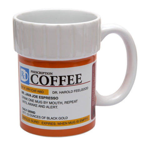 The Monkey Hut - Prescription Coffee Ceramic Mug