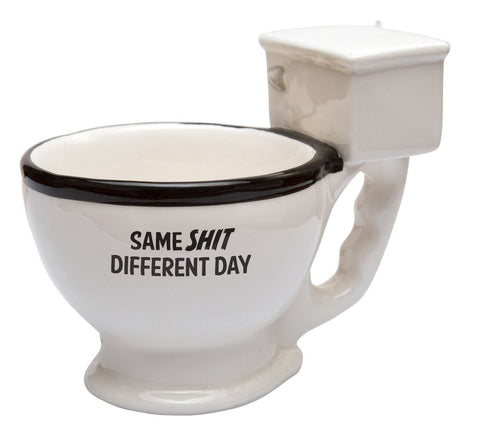 The Monkey Hut - Same Shit Different Day Ceramic Mug