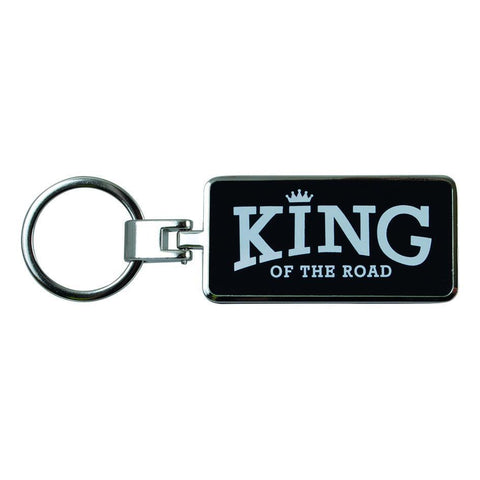 King Of The Road Keyring