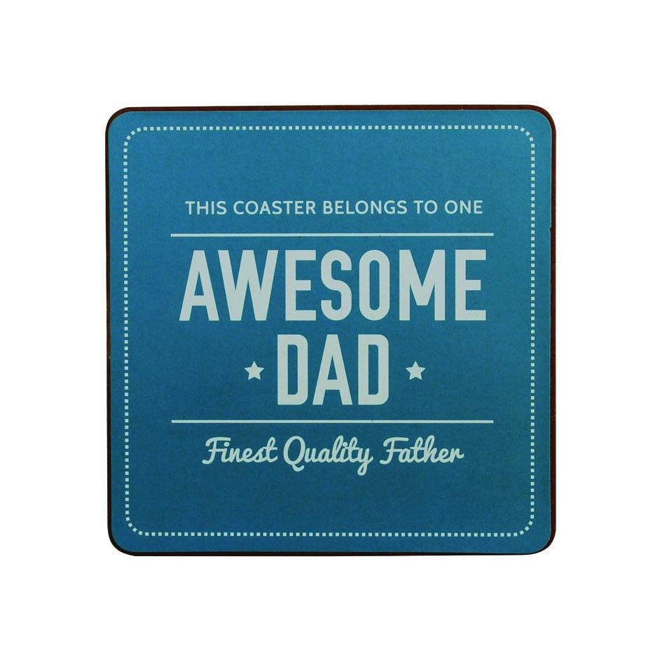 Awesome Dad Coaster