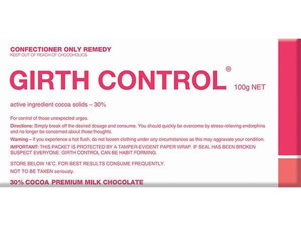 Bellaberry Girth Control Milk Chocolate 100G