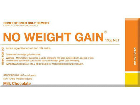 Bellaberry No Weight Gain Milk Chocolate 100G