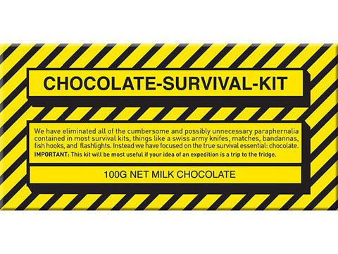 Bellaberry Choc Survival Kit Milk Chocolate 100G