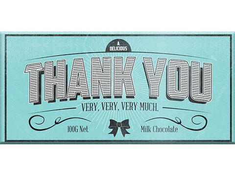 Bellaberry Thank You Milk Chocolate 100G