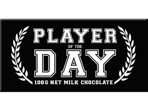 Bellaberry Player Of The Day Milk Chocolate 100G
