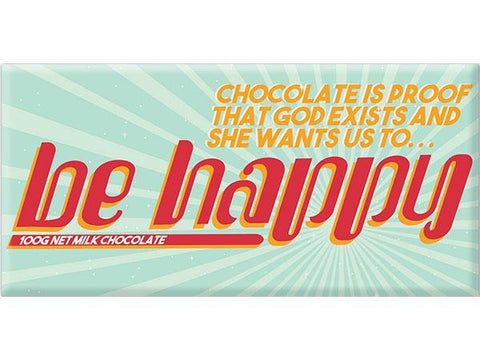 Bellaberry Be Happy Milk Chocolate 100G