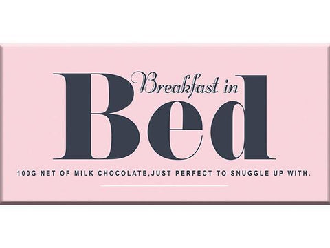 Bellaberry Breakfast In Bed Milk Chocolate 100G