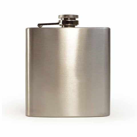 Silver Hip Flask pack