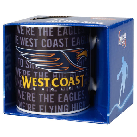 WEST COAST EAGLES TEAM SONG MUG