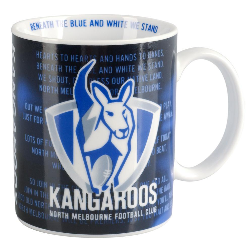 NORTH MELBOURNE COFFEE MUG SONG
