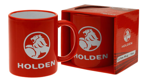 HOLDEN COFFEE MUG 11oz RED LOGO