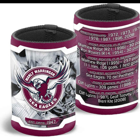 NRL MANLY CAN COOLER