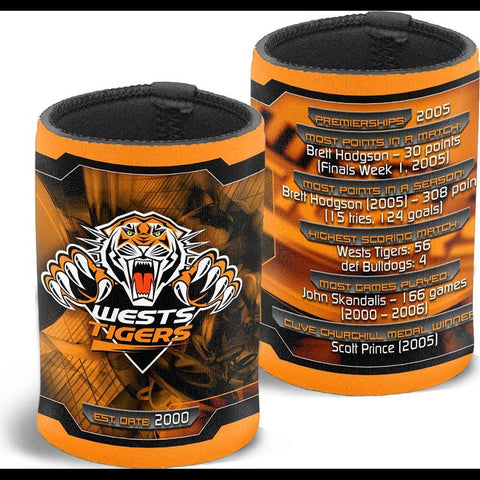 NRL TIGERS CAN COOLER