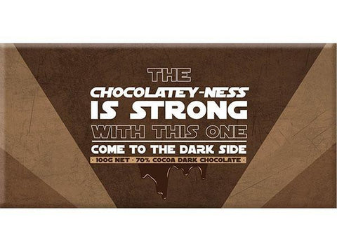 Bellaberry The Dark Side Dark Chocolate 100G