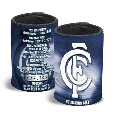 AFL CAN COOLER CLUB HISTORY CARLTON