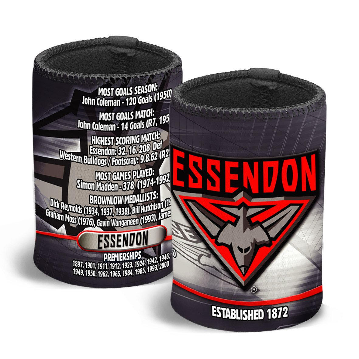 AFL CAN COOLER CLUB HISTORY ESSENDON