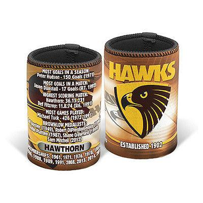 AFL CAN COOLER CLUB HISTORY HAWTHORN
