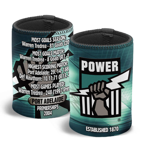 AFL CAN COOLER CLUB HISTORY PORT ADELAIDE