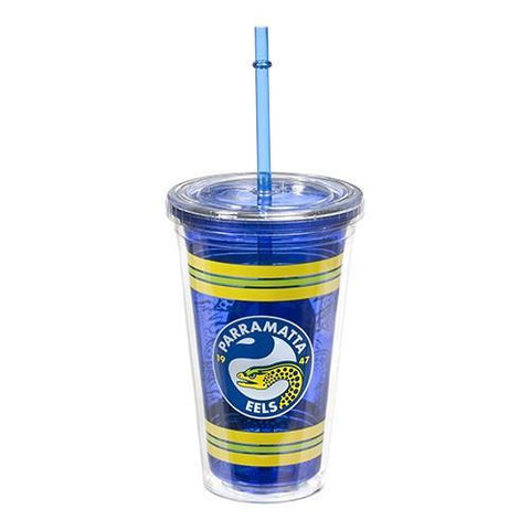 NRL TUMBLER WITH STRAW EELS