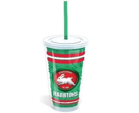 NRL TUMBLER WITH STRAW RABBITOHS