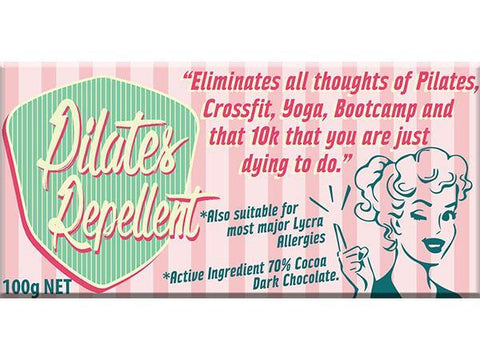 Bellaberry Pilates Repellent Dark Chocolate 100G
