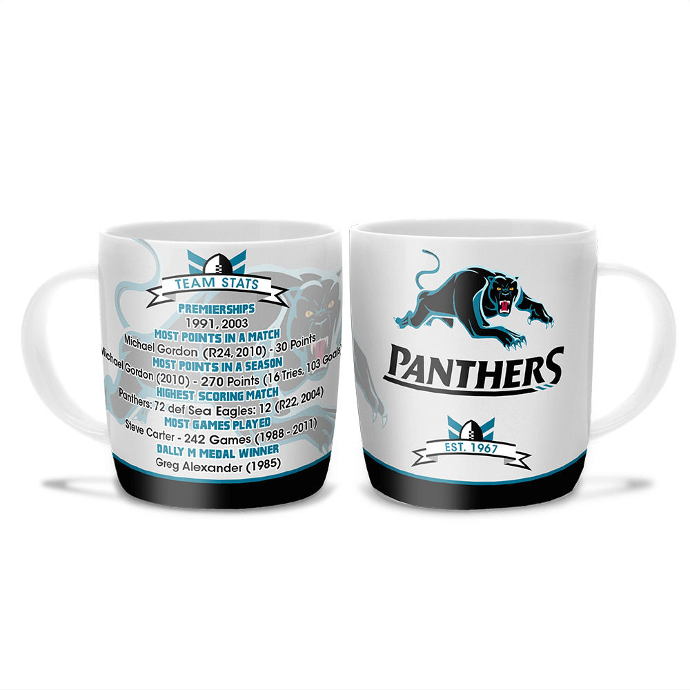 NRL COFFEE MUG CLUB HISTORY PANTHERS