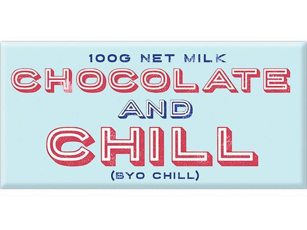 Bellaberry Choc And Chill Milk Chocolate 100G