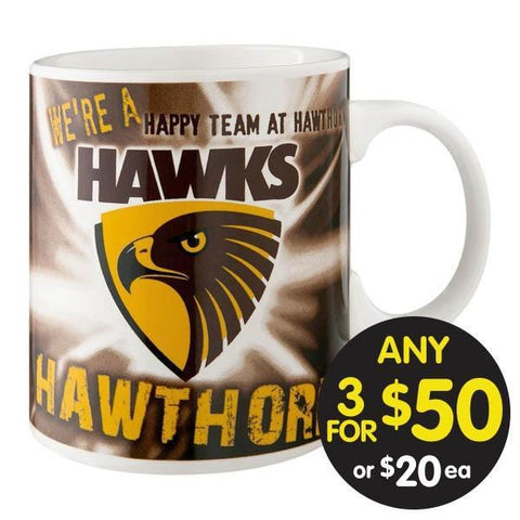 AFL COFFEE MUG MUSICAL HAWTHORN