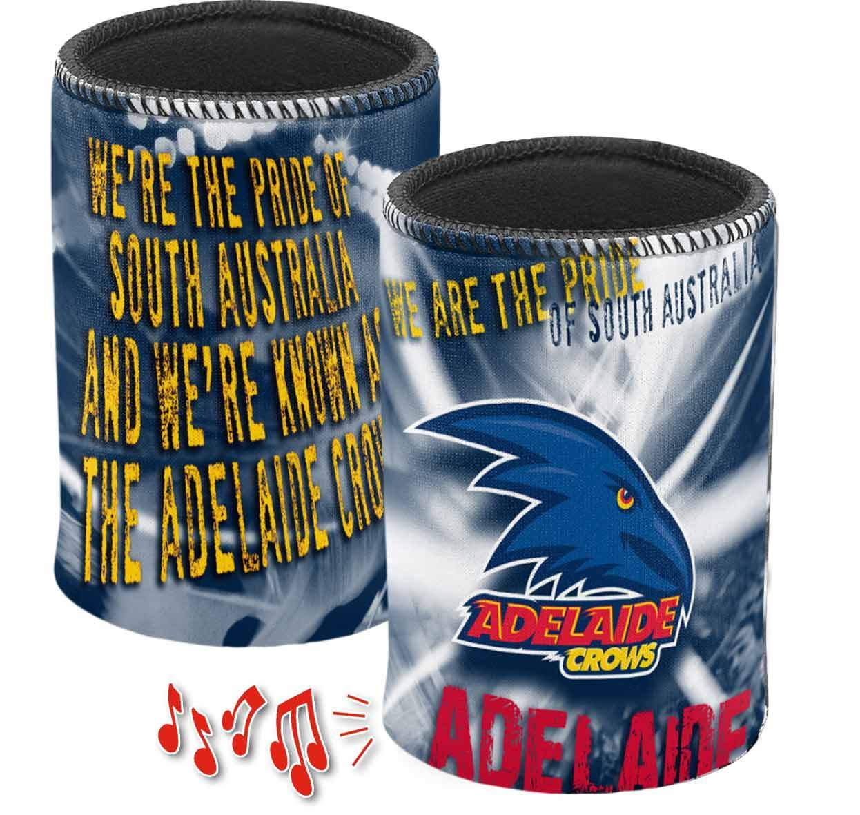 ADELAIDE CROWS MUSICAL CAN COOLER