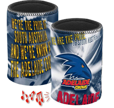 AFL Adelaide Crows Musical Can Cooler