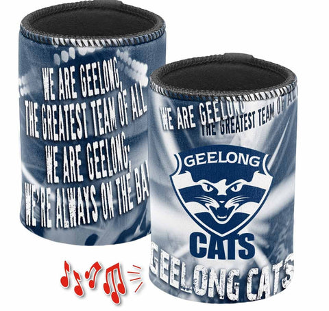 GEELONG CATS MUSICAL CAN COOLER