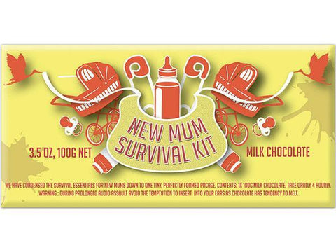 Bellaberry New Mum Survival Kit Milk Chocolate 100G