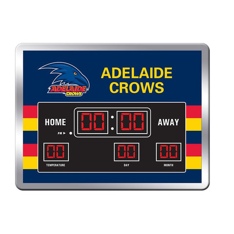AFL Adelaide Crows Scoreboard Clock