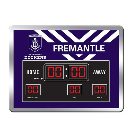 AFL Fremantle Scoreboard Clock