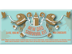 Bellaberry New Dad Survival Kit Milk Chocolate 100G